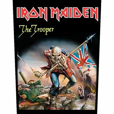 £8.49 • Buy IRON MAIDEN The Trooper GIANT BACK PATCH - 36 X 29 Cm