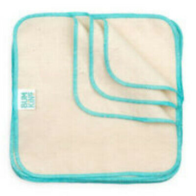AU23.99 • Buy Reusable Cloth Baby Wipes - Bumkins 12 Pack FREE SHIPPING