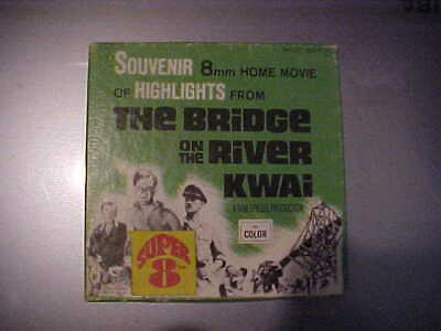 $ CDN15 • Buy Souvenir 8mm Home Movie Of Highlights From The Bridge On The River Kwai Columbia