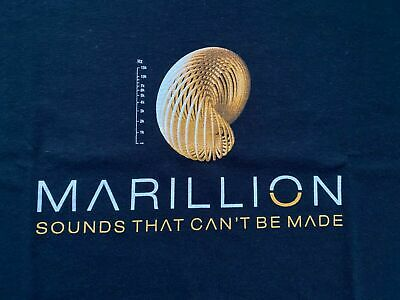 £22.99 • Buy Marillion Sounds That Can't Be Made Tour T-Shirt - NEW - Official Merchandise
