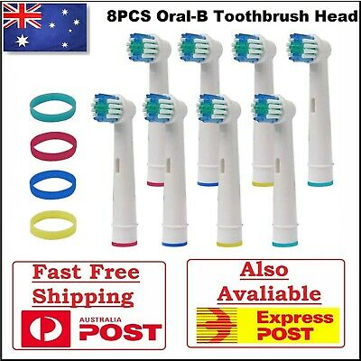 AU8.99 • Buy Electric Toothbrush Heads Oral B Compatible Replacement Brush X8 Soft Bristles