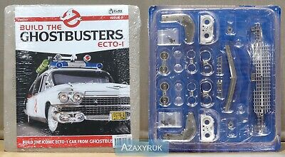 BUILD THE GHOSTBUSTERS ECTO-1  1:8 Scale - Issue 2 Complete  **NEW & SEALED** • 6.99£