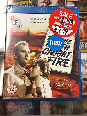 £9.99 • Buy THE DAY THE EARTH CAUGHT FIRE Blu Ray Brand New And Sealed BFI