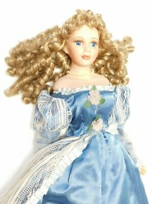 $ CDN169.17 • Buy Victorian Porcelain Dolls Lot Of 3 With Stands Dolls 15 -20  Tall FREE SHIPPING