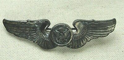 $44.99 • Buy VINTAGE Sterling Silver .925 WWII Era USAF Pilot Military Wings Eagle Pin