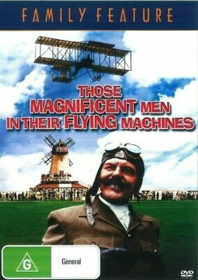 AU9.95 • Buy Those Magnificent Men In Their Flying Machines DVD New Sealed Australian Release