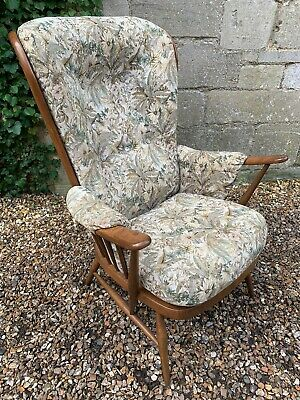 Genuine Vintage Ercol Evergreen Wingback Armchair. Delivery Available Most Areas • 240£