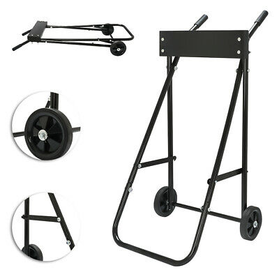 AU113.04 • Buy DIY Outboard Autoboard Motor Boat Carrier 85kg Carrier Cart Engine Trolley Stand