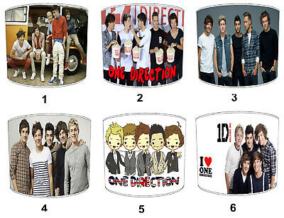 £27.99 • Buy One Direction Lampshades, Ideal To Match One Direction 1D Posters Wallpaper.