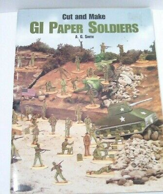 $5.99 • Buy Vintage GI Paper Soldiers Book Cut And Make Paper Dolls WWII Era -Incomplete-
