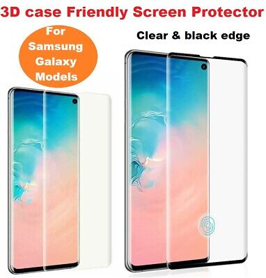 £2.95 • Buy For Samsung  S20 Plus Ultra S21 + 5G Tempered Glass Screen Protector Film Curve