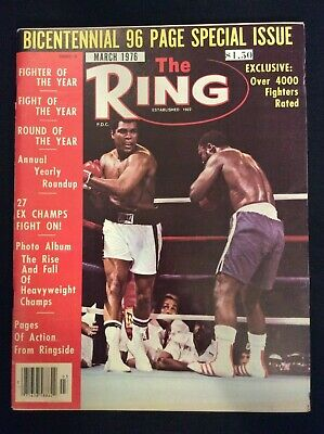 $18.97 • Buy The RING Boxing Magazine  *March 1976*   Bicentennial Special Issue  M1385