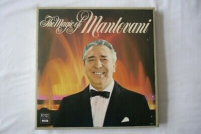 The Magic Of Mantovani. Readers Digest. Boxed Set Of 7 LP's. Classic Collection. • 15£