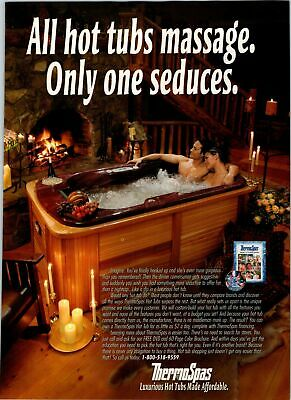 £6.51 • Buy 2005 VINTAGE 8X11 PRINT Ad FOR THERMOSPAS COUPLE IN HOT TUB NEXT TO FIREPLACE