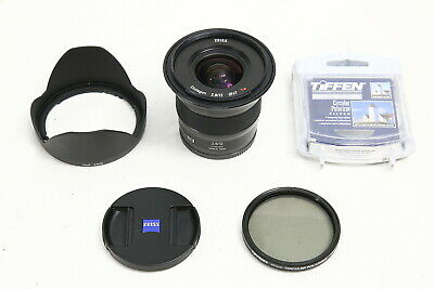 $ CDN949.46 • Buy Zeiss Touit 12mm F/2.8 T* Lens For Sony E Mount EX+ FILTER A7 A7R A7S I II III