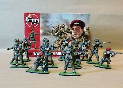 Airfix Professionally Painted 1/32 Ww2 British Paratroopers Boxed Complete X 14 • 65£