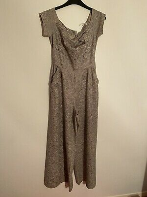 Love Grey/silver Jumpsuit Size 8/10 • 1.40£