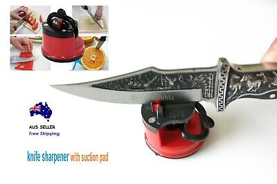 AU12.80 • Buy Kitchen Sharpener Knife With Suction Pad For Knives Blades Scissors Aus Stock