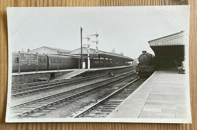 Reading Junction Station Railway Berkshire Real Photographic Postcard • 3£