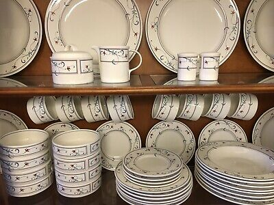$12.99 • Buy ANNETTE Mikasa INTAGLIO CAC20 China Dinnerwear EUC Replacement Pieces YOU CHOOSE