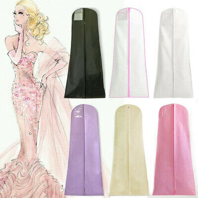 Dustproof Wedding Dress Storage Clothes Bag Cover For Bridal Gown Garment • 4.99£