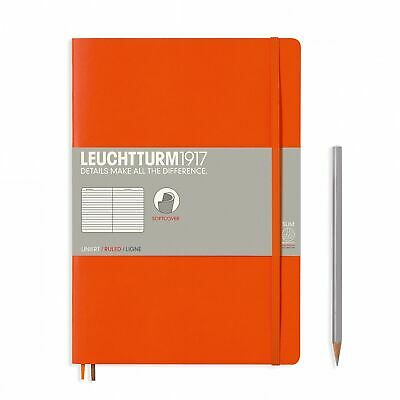 AU29.95 • Buy Leuchtturm1917 Notebook B5 Softcover Composition Lined - Orange