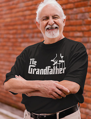 £10.99 • Buy Dirty Fingers  The Grandfather  Men's T-Shirt Funny The Godfather Style Gift