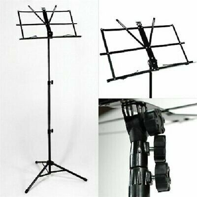 £6.49 • Buy MUSIC NOTE STAND HOLDER Musical Instruments Portable Easy Folding Sheet