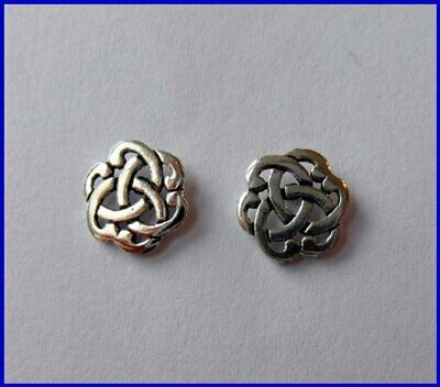 Pair  Of  Sterling  Silver  925  Celtic  Knot   Studs  !!         Brand  New  !! • 4.99£