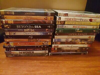 $ CDN32.44 • Buy Lot Of 36 DVDs Pre Owned Drama / Heart Touching Dvd Lot