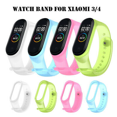 $4.79 • Buy For Xiaomi MI Band 4 3 Strap Replacement Bracelet Silicone Wristband Watch Band