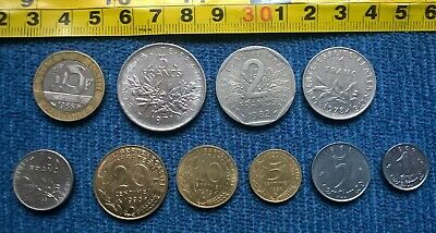 18a-JOB LOT OF FOREIGN / France Coins  • 0.99£
