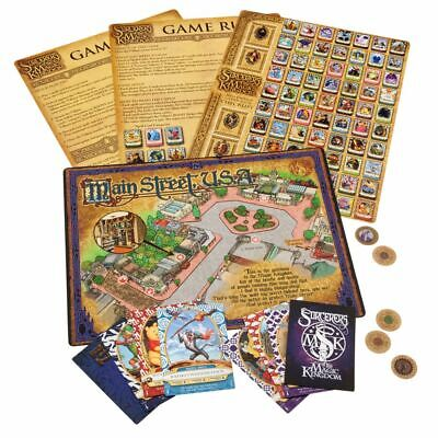 Sorcerers Of The Magic Kingdom - Play At Home Game  (Excludes Lightning Card) • 10£