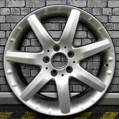 $194.97 • Buy Fine Bright Silver OEM Front Wheel For 2001-2004 Mercedes CLK55 AMG - 17x7.5