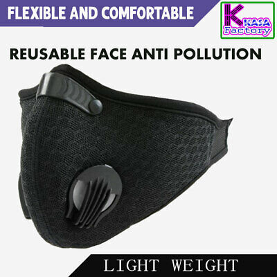 AU25.99 • Buy Anti Dust Reusable N95 Face Mask Dust Protection Outdoor Pollution Free Mask