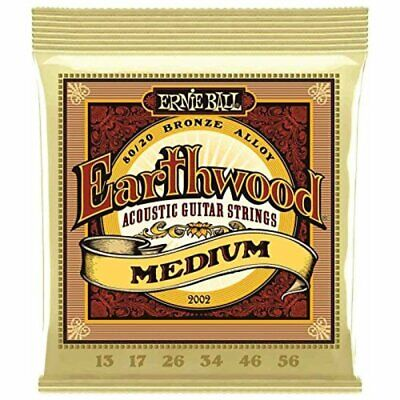 $ CDN11.66 • Buy Ernie Ball Acoustic Guitar Strings Earthwood Phosphor Bronze 80/20 Medium