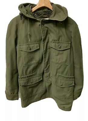 $ CDN107.39 • Buy VTG M-65 Military Field Jacket Cold Weather Coat Size Medium MFG Co. With Liner