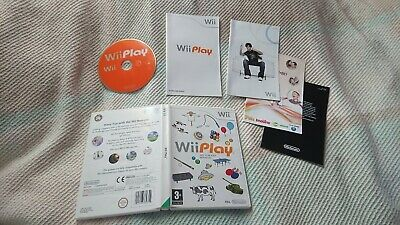 Wii Play: Nintendo Wii,9 Mini Games - Kids / Family Games • 8£