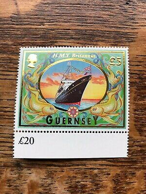 Guernsey 1998 Maritime Heritage £5 Stamp Mnh • 4£