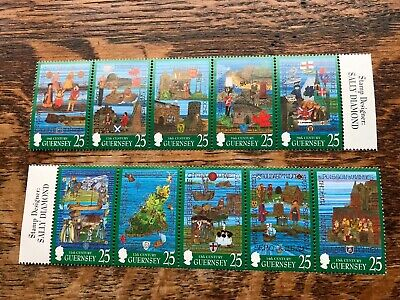 Guernsey 1998 The Millennium Tapestries Project Stamps MNH • 2.30£