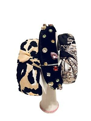 $16.50 • Buy Ladies' Time & True Stylish Top Knot Headband Hair Accessories Lot 3. NEW