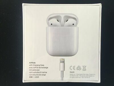 $ CDN175.89 • Buy Apple AirPods 2nd Generation With Charging Case - White- Brand New & Sealed.