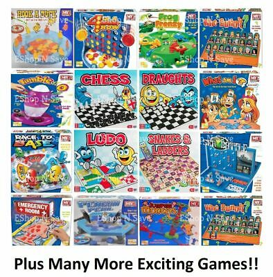 £6.99 • Buy TRADITIONAL CLASSIC MODERN BOARD GAMES FULL SIZE Family Christmas Kids Fun