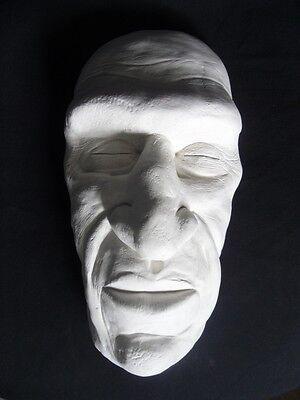 £16 • Buy RONDO HATTON DEATH MASK Wall Hanging Life Sized Gaff  SIDESHOW