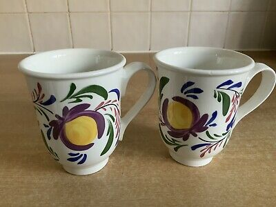 Portmeirion Welsh Dresser - 2 X Coffee / Tea Mugs • 16£
