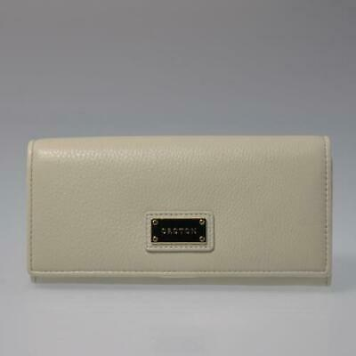 AU15.50 • Buy New Oroton Kiera Ivory Slim Clutch Leather Ladies Wallet Rrp $245 Womens Purse