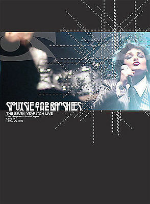 Siouxsie And The Banshees - Seven Year Itch (DVD, 2003) Still Sealed • 46.48£
