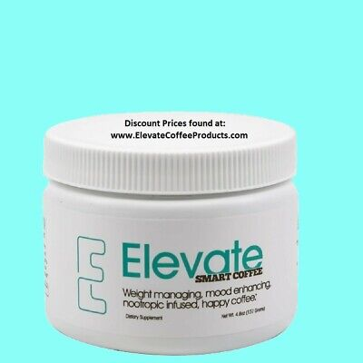$52.89 • Buy Elevate Smart Coffee By Elevacity - 30 Serving Tub, 4.7 Oz - Authentic
