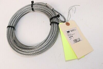 $49.95 • Buy Warn Winch 38678 Replacement Wire Rope Cable 3/16 X50' ATV New OEM NOS