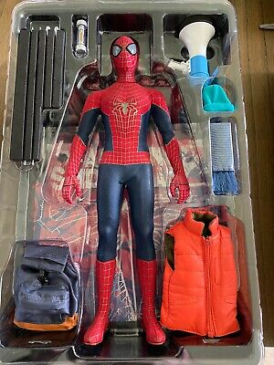 $250 • Buy  Used  Hot Toys 1:6-Scale MMS244 The Amazing Spider-Man 2 Action Figure